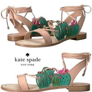 🆕 Kate Spade Salina sandals with cactus details